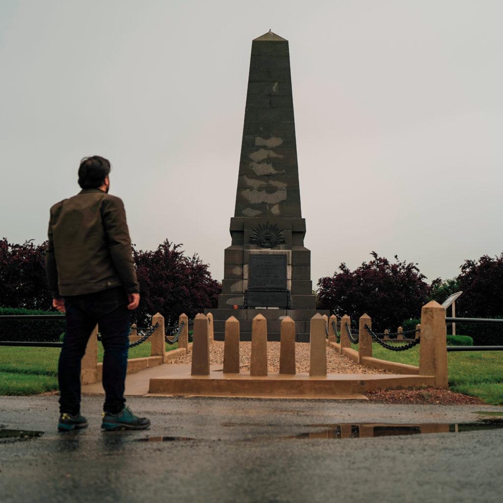 Le monument de la 3è Division Australienne